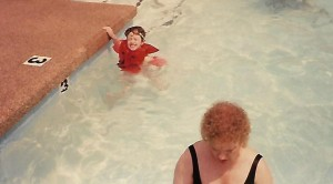 Swimming - A String, A Play, and One Hairy Leg - Stories of Petey