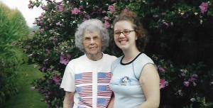 walking with grandma - prune juice, peppermint, and memories of grandma - stories of petey