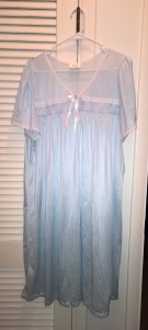 Goodwill nightgown - dreams of genies - stories of petey