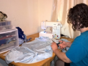 Cutting top of nightgown - dreams of genies - stories of petey