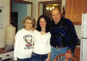 grandma and grandpa - prune juice, peppermint, and memories of grandma - stories of petey