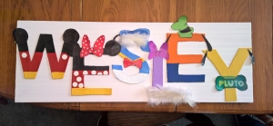 Finished Nursery Gift - A Gift of Love - Stories of Petey