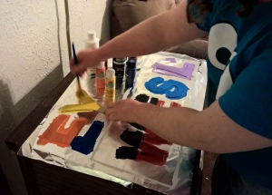 Painting Letters - A Gift of Love - Stories of Petey