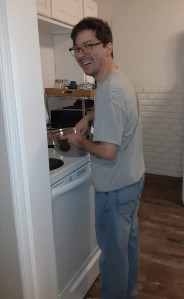 The Blessings of 2020 - Stories of Petey - Cooking a Healthy Meal