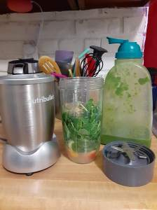 Give Me A Little Green - Stories of Petey - Smoothie and Nutribullet