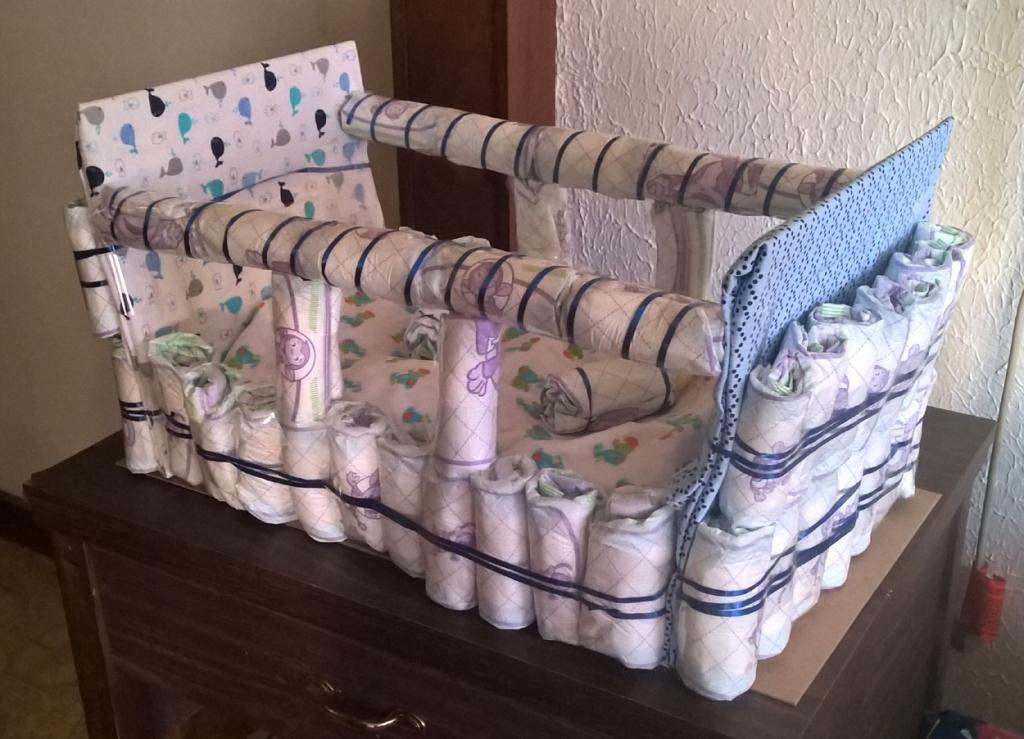 Stories of Petey - Sleeping Angels - Diaper Crib