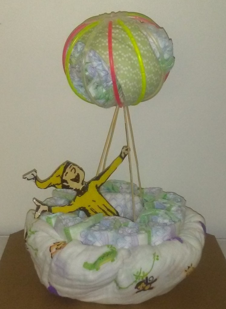 Stories of Petey - Whimsical Diaper Cakes - Dr. Seuss Diaper Cake