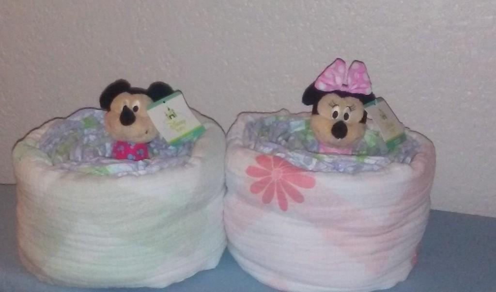 Stories of Petey - Whimsical Diaper Cakes - Disney Diaper Cakes
