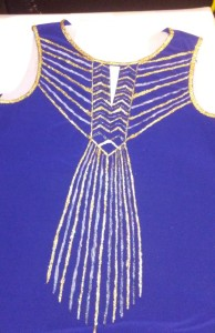 Stories of Petey - Upcycled Art Deco Clothing - Glitter 3