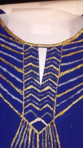 Stories of Petey - Upcycled Art Deco Clothing - Glitter 1
