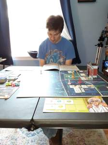 Stories of Petey - I Had To Disappear - Playing Board Games