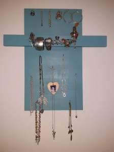 Stories of Petey - My Treasures - Jewelery Display